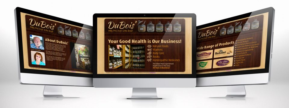 DuBois – Website Design