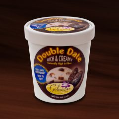 Double Date Ice Cream – Package Design