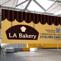 LA Bakery – Banner