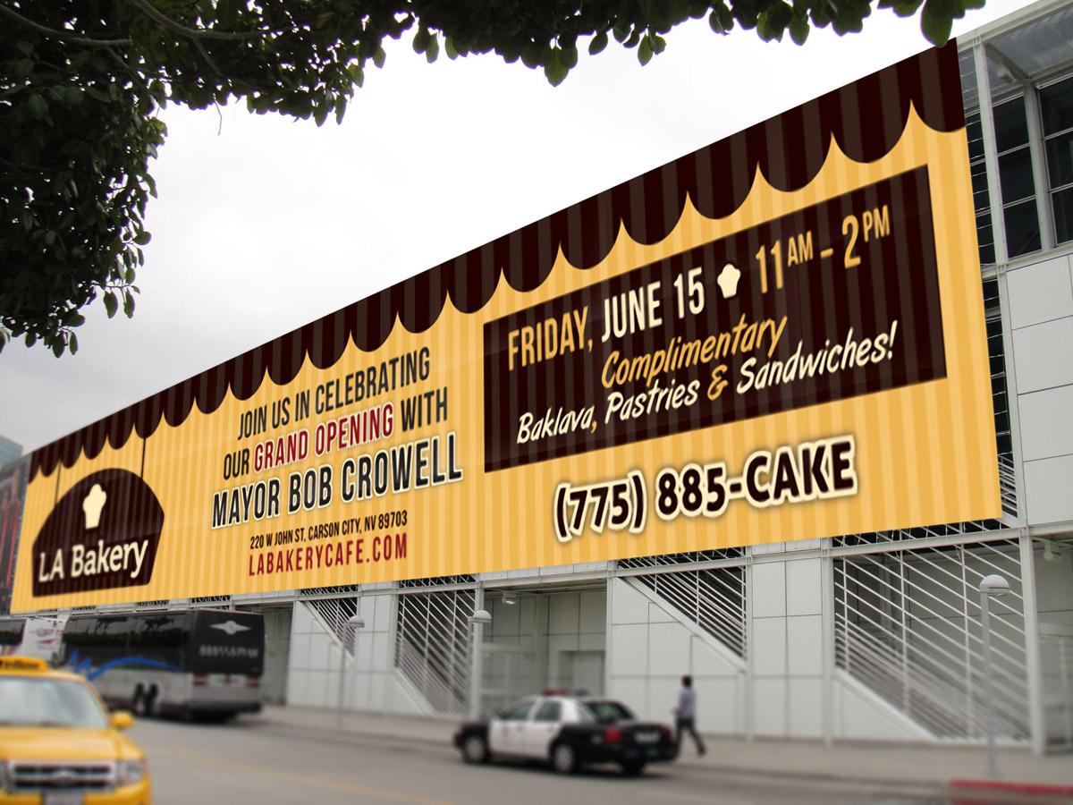 LA Bakery Billboard