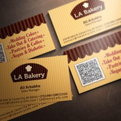 LA Bakery – Business Cards