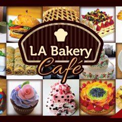 LA Bakery Cafe – Postcard Design