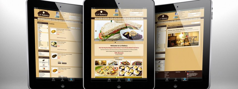 LA Bakery – Website Design