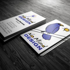 No Mind Design – Business Cards