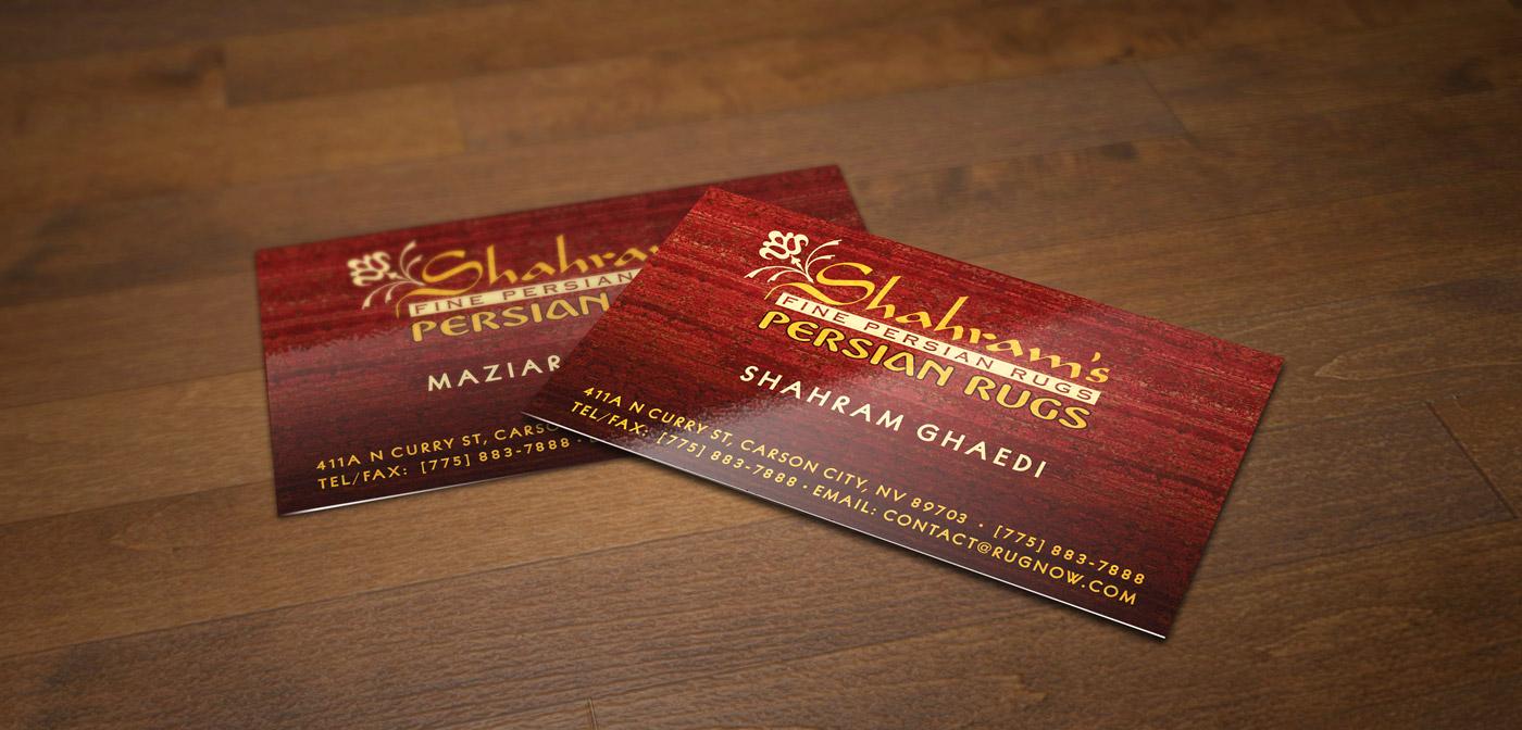 Shahram's Business Cards