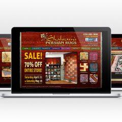 Shahram's – Website Design