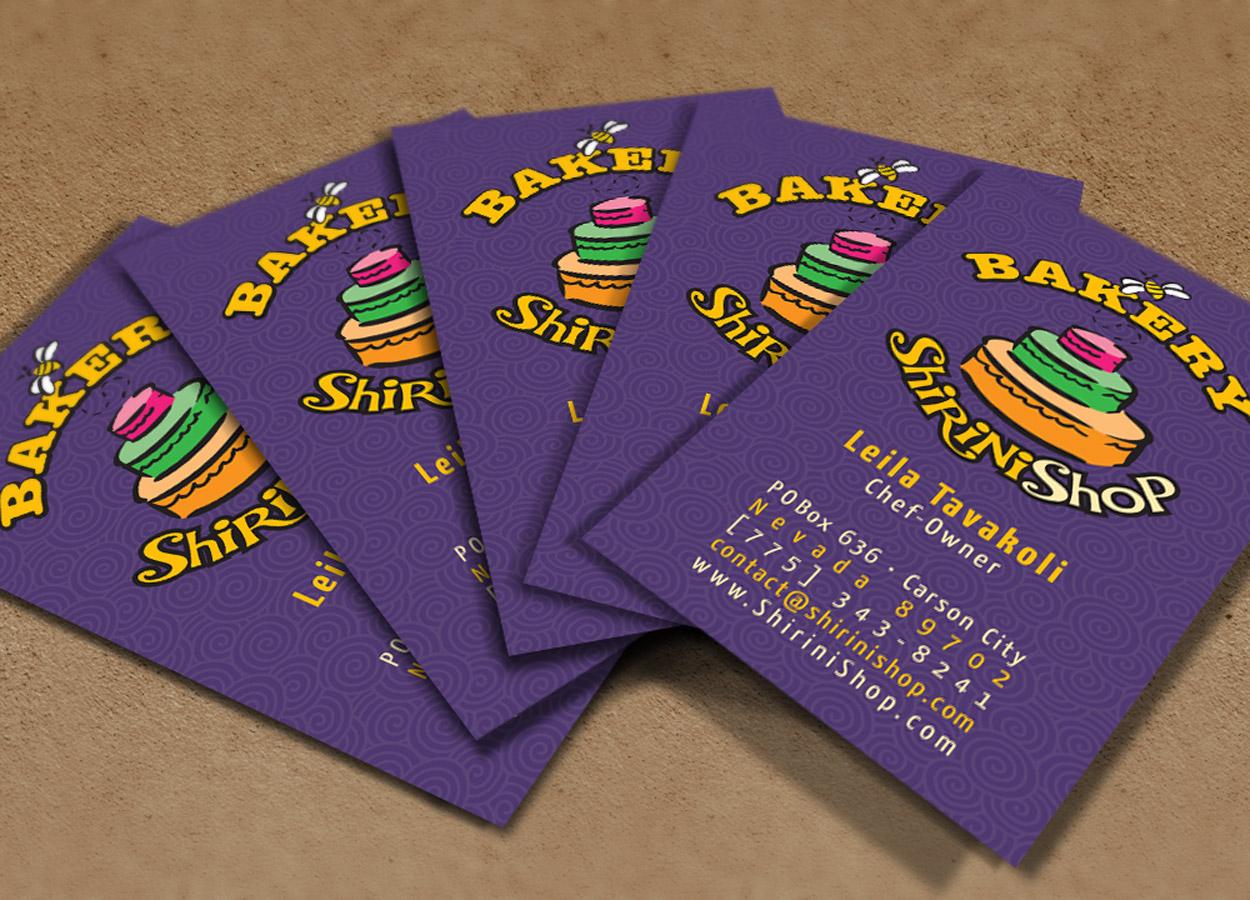 ShiriniShop Business Cards