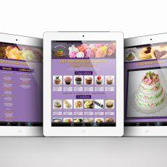 ShiriniShop Bakery – Website Design