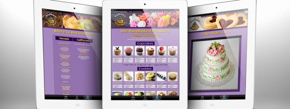 ShiriniShop Bakery – Website Design