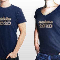 Downtown 20/20 – T-Shirt Design
