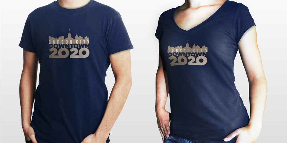 Downtown 20/20 – T-Shirt Design