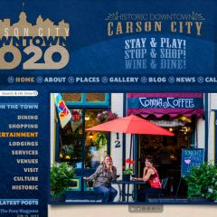 Carson City Downtown 20/20 – Website Design