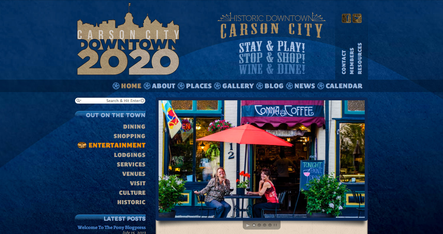 Carson City Downtown 20/20 - Home Page