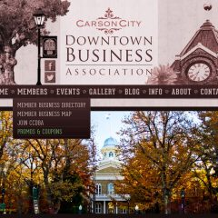 Carson City DBA – Website Redesign