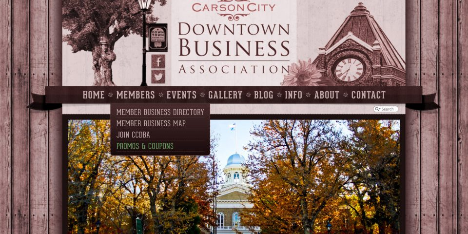 Carson City DBA – Website Redesign