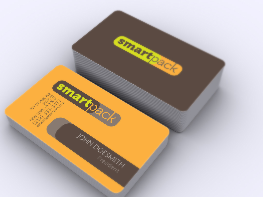 SmartPack Logo & Business Cards