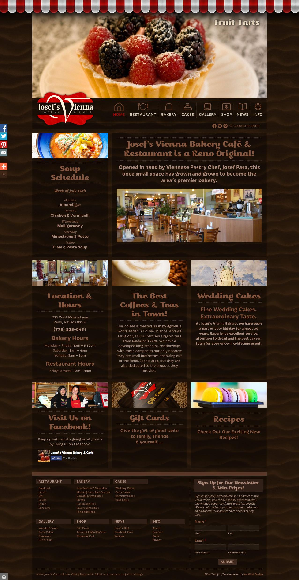 JosefsVienna-Homepage