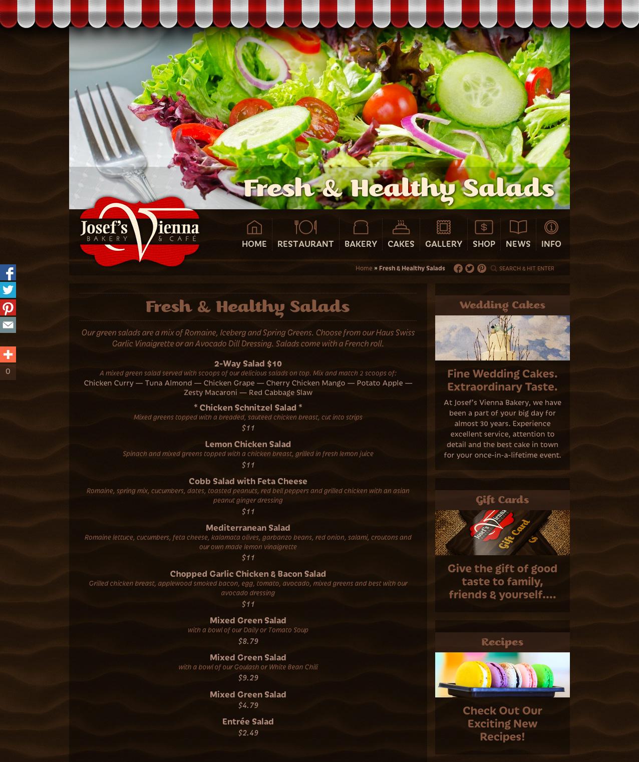 JosefsVienna-Salads