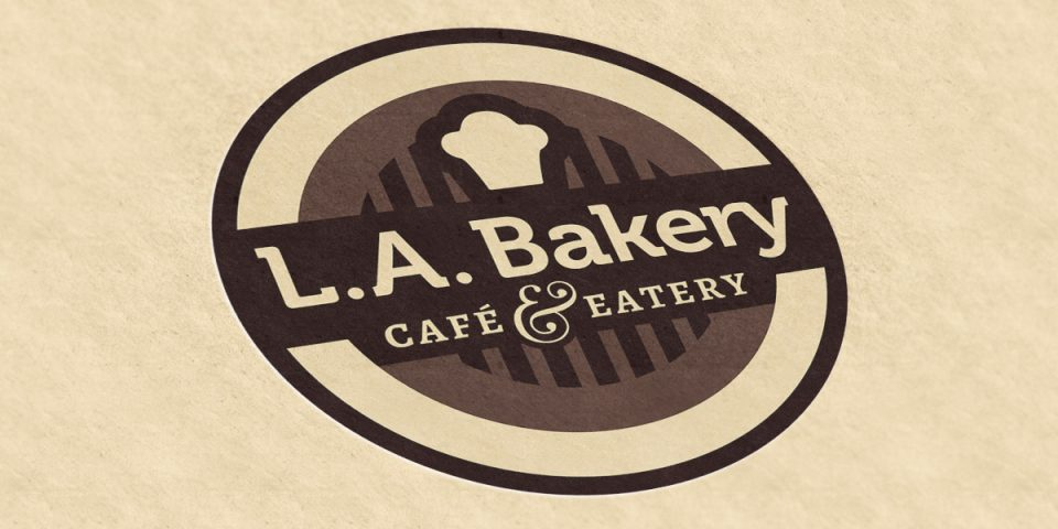 LA Bakery – Logo & BC Redesign