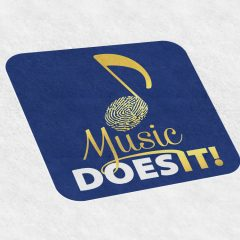 Music Does It! – Logo Design