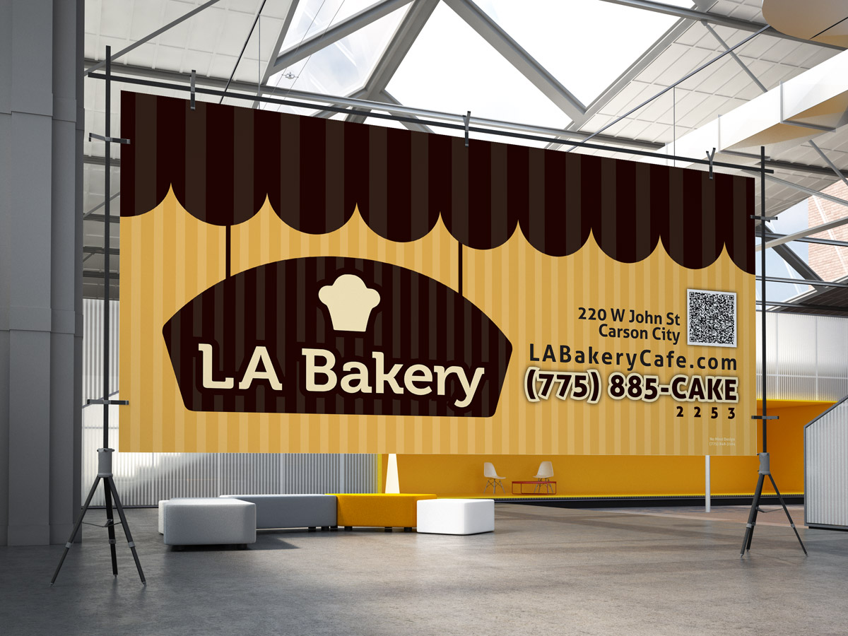 LA Bakery – Banner | No Mind Design