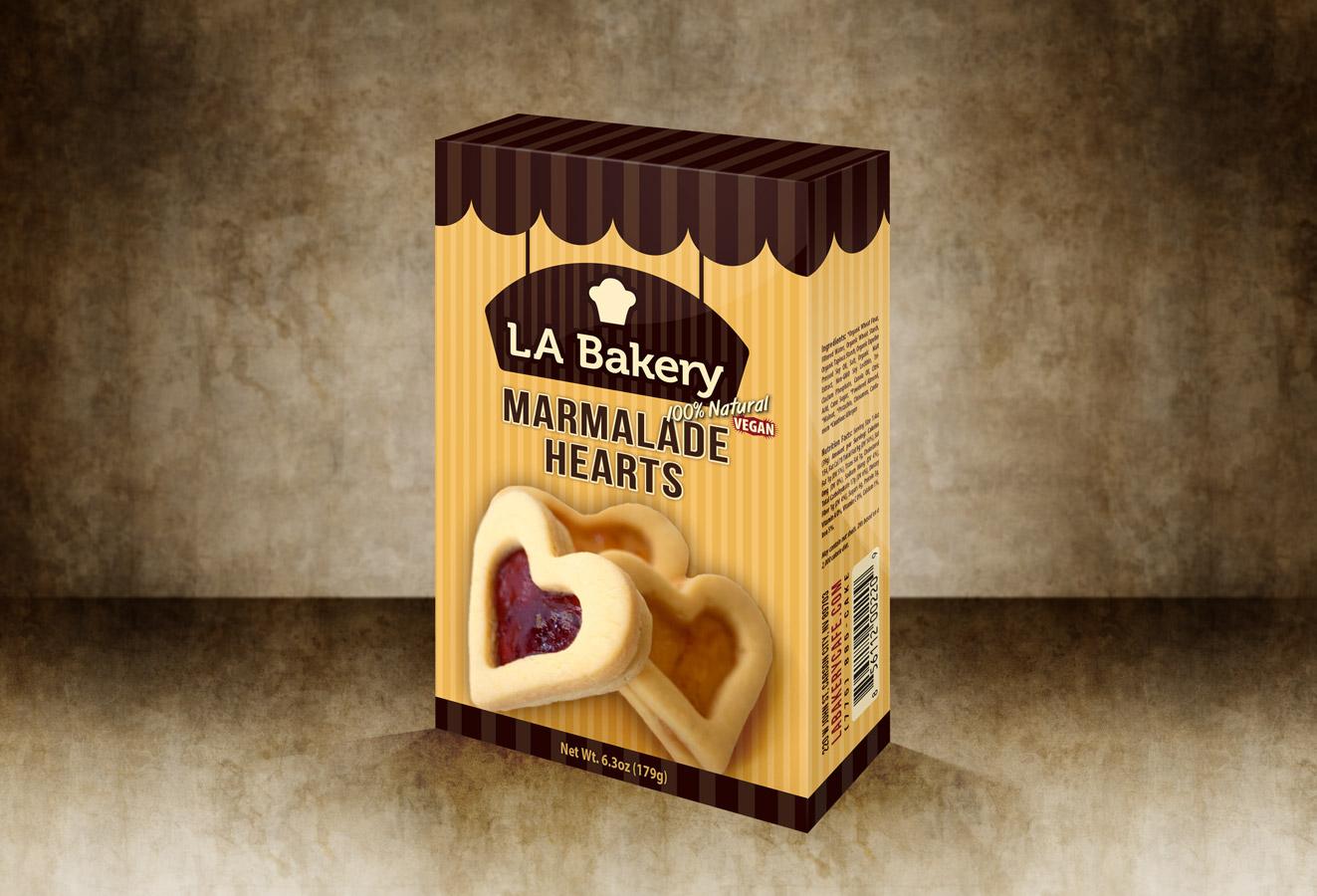 LA Bakery – Package Design | No Mind Design