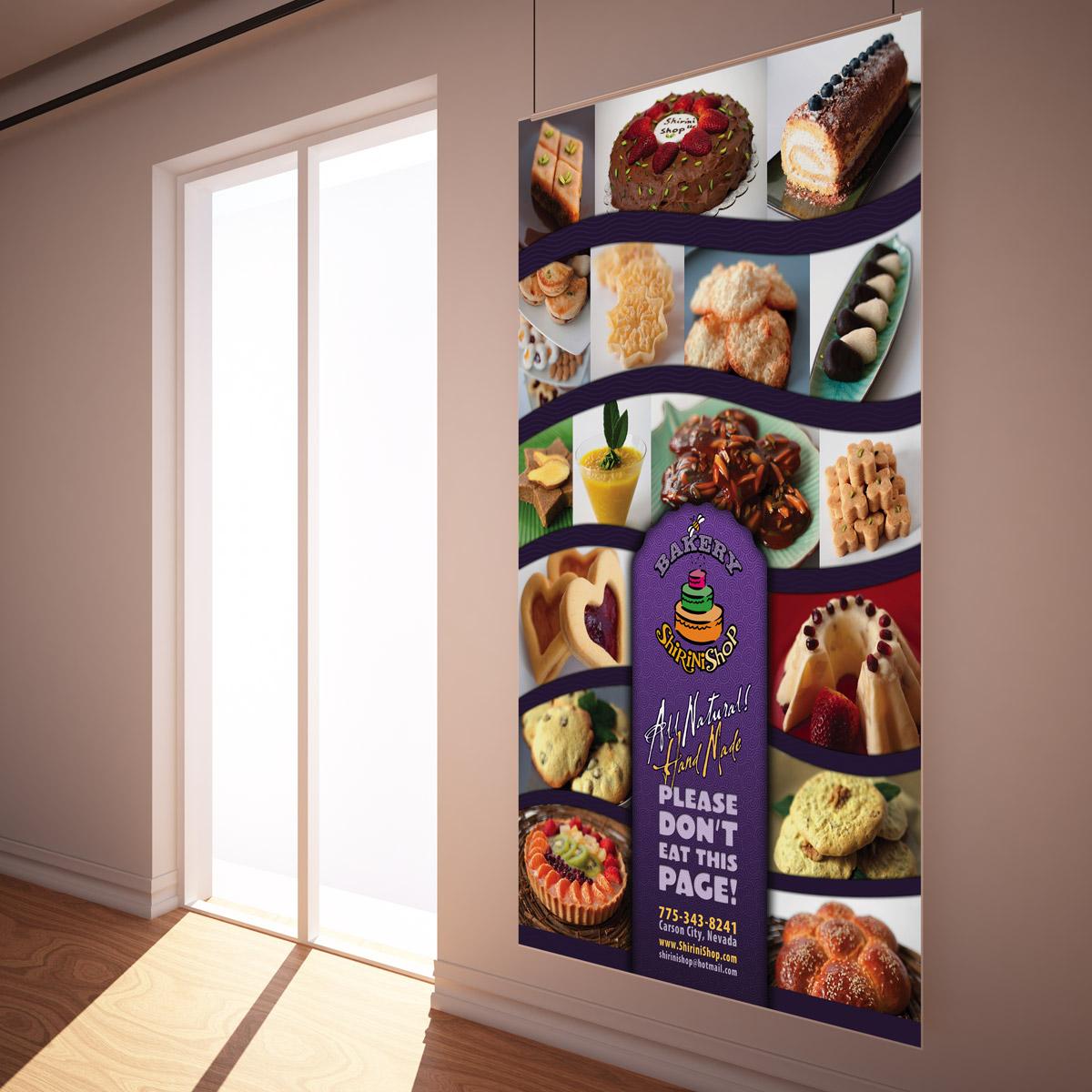Questionnaire For Home Design Shirinishop Bakery Ad Poster Design No Mind Design